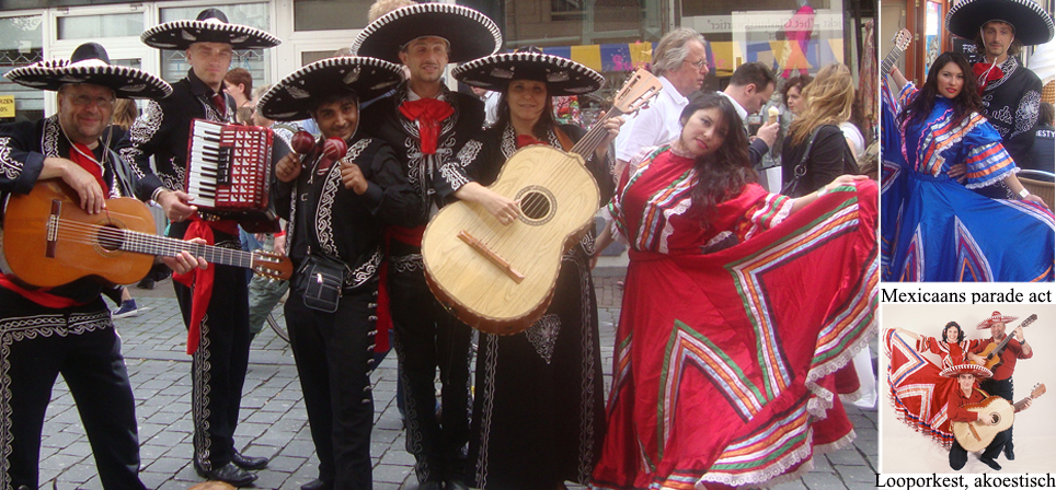 Authentieke Mexicaanse dansgroep